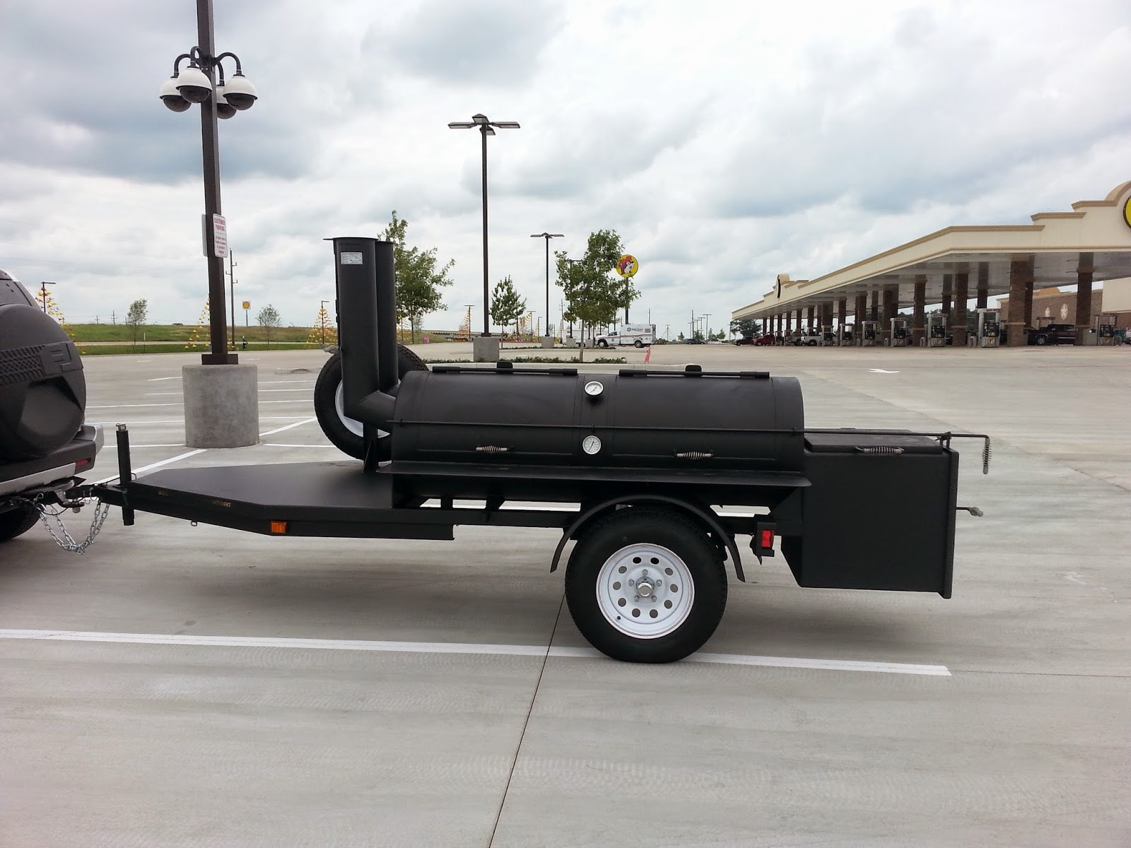 Man Up Tales Of Texas Bbq Bbq Joint Smoker For Sale