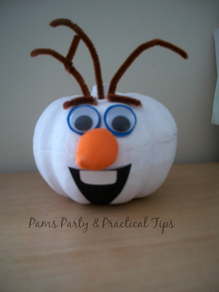 Craft Pumpkin Olaf
