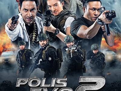 Sinopsis dan Senarai Pelakon Filem Polis Evo 2