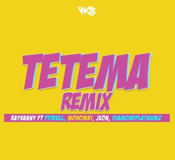 Tetema remix - Rayvanny ft Pitbull, Mohombi, Jeon & Diamond Platnumz