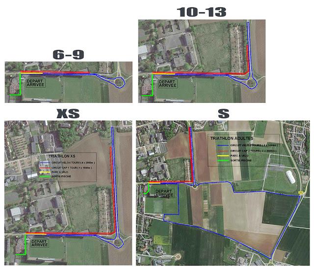 parcours triathlon arras