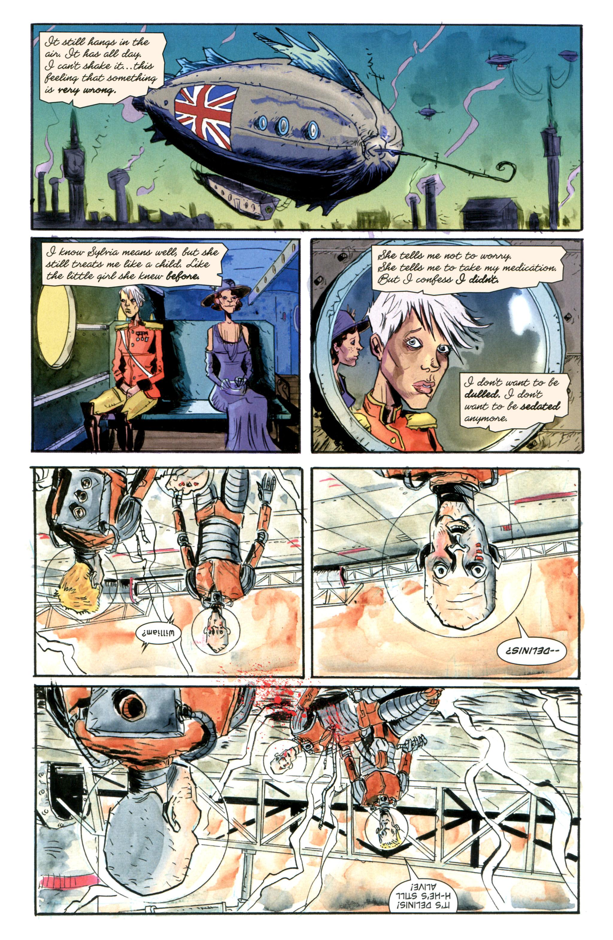 Read online Trillium comic -  Issue #5 - 9