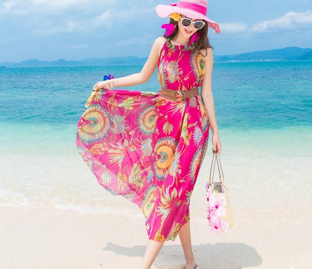 Những kiểu Maxi đẹp và quyến rũ cho ngày hè