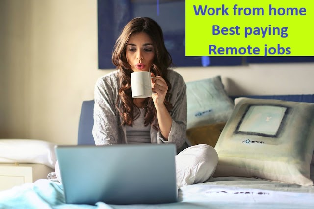 Remote Jobs India  all work job home anywhere full part-time