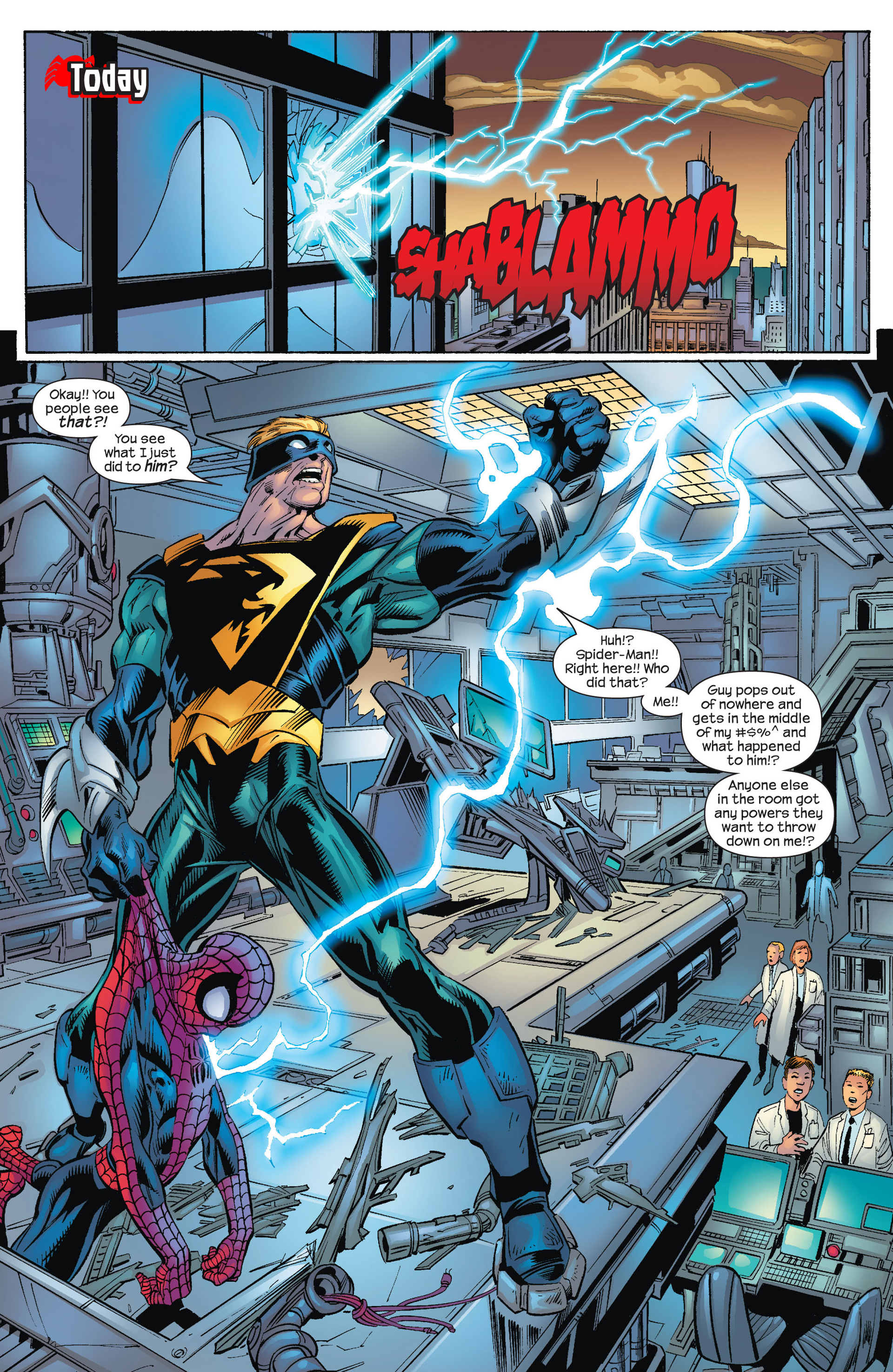 Read online Ultimate Spider-Man (2000) comic -  Issue #72 - 10