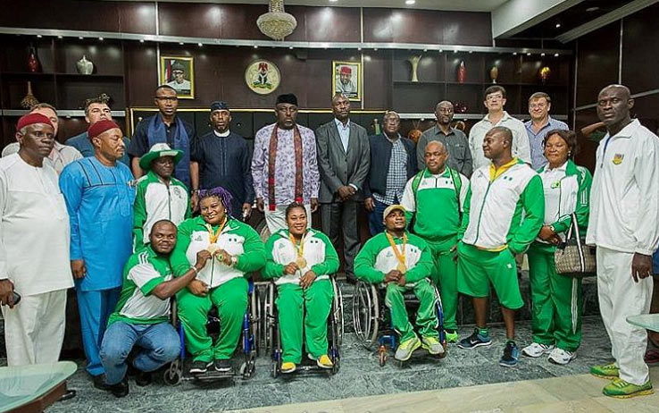 Governor Rochas splashes Paralympics with cars, cash gifts