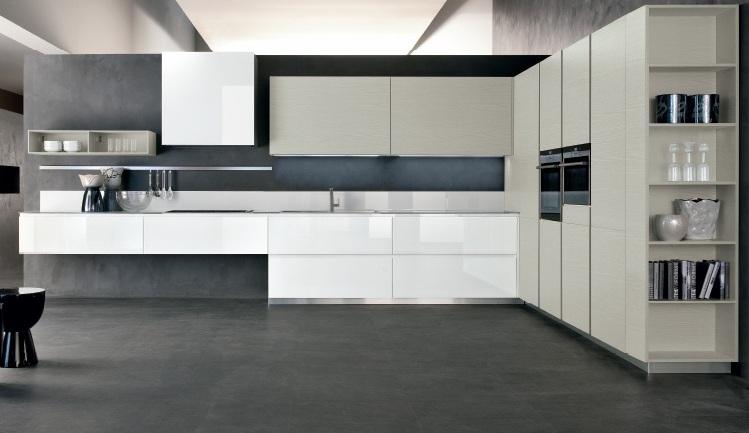 Cocinas angulares: para espacios más grandes - Cocinas con estilo