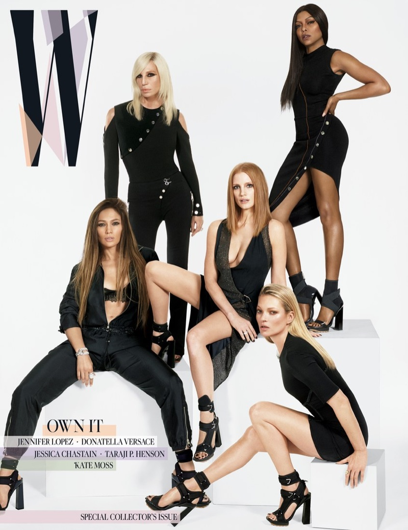 W Magazine enlists the most powerful female stars for its March 2017 issue