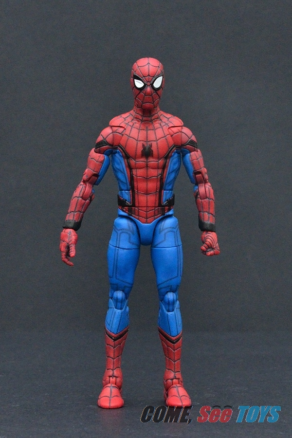 come see toys marvel legends series homecoming spider