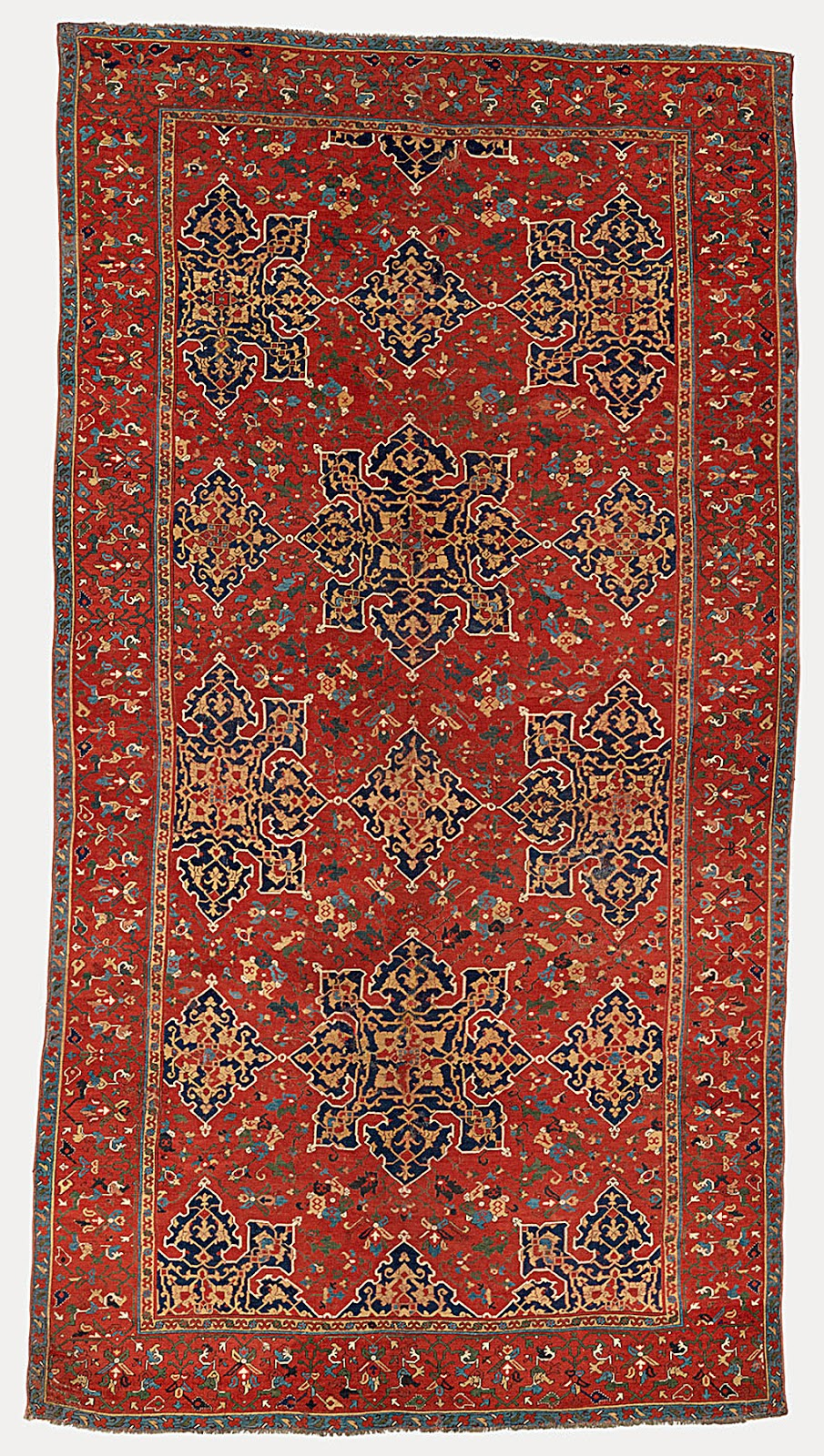 Architectural tiles glass and ornamentation in new york star ushak carpet late 15th century woven in the ushak region of western turkey star ushak carpets were made for regional consumption and for export dailygadgetfo Choice Image
