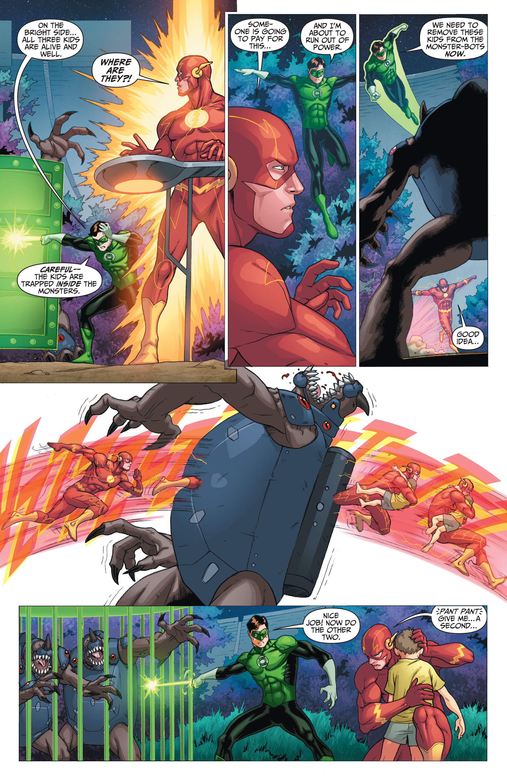 Read online The Flash (2011) comic -  Issue # Annual 2 - 15