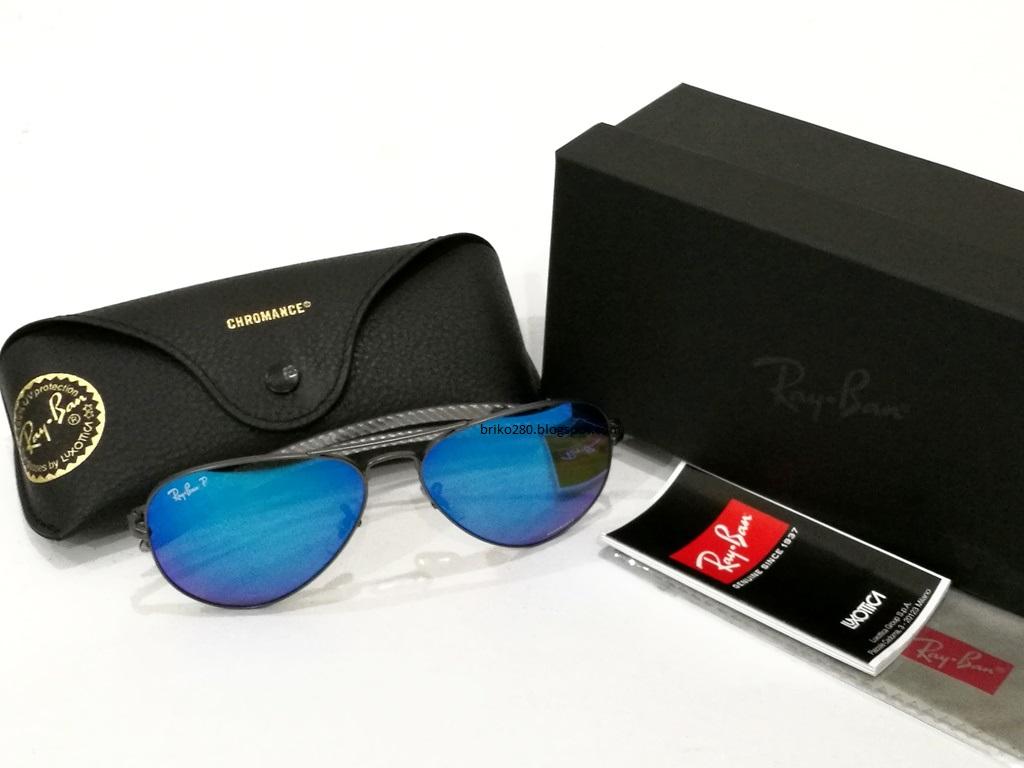 dc4cd46b14 RayBan RB-8317 Chromance Series Gold frame with Polarized Purple Mirror  Chromance lense. RB-8317CH 001 6B Size 58-14-140