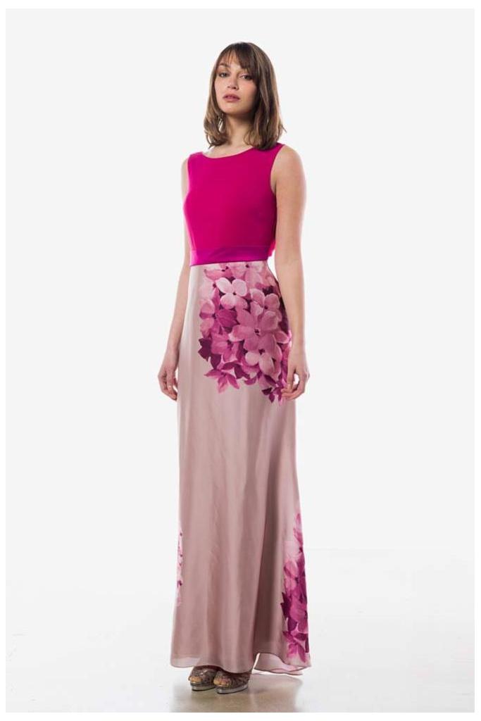 2c33c20385 Vestidos largos para las bodas que se celebran por la tarde-noche