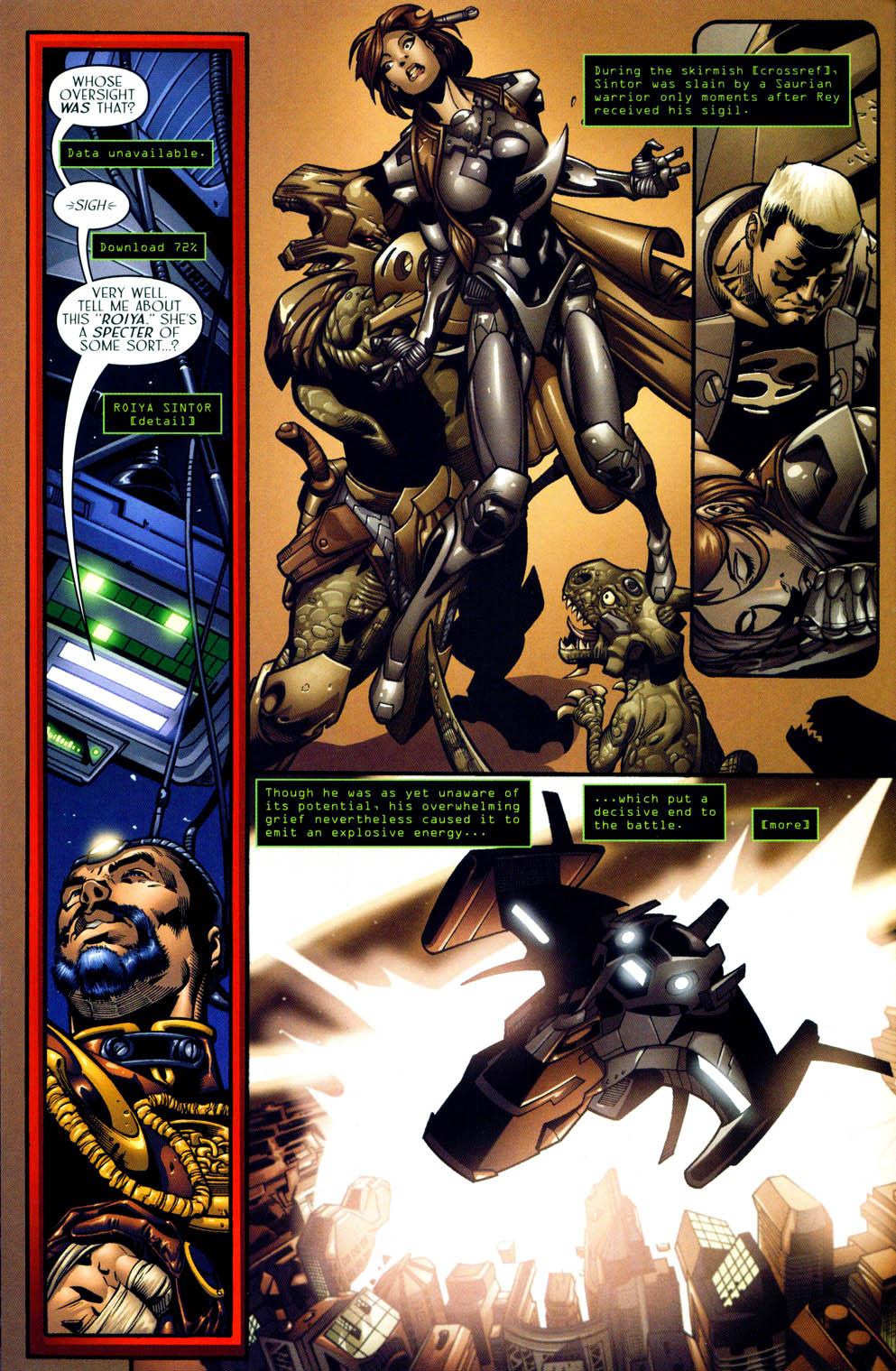 Read online Sigil (2000) comic -  Issue #12 - 14