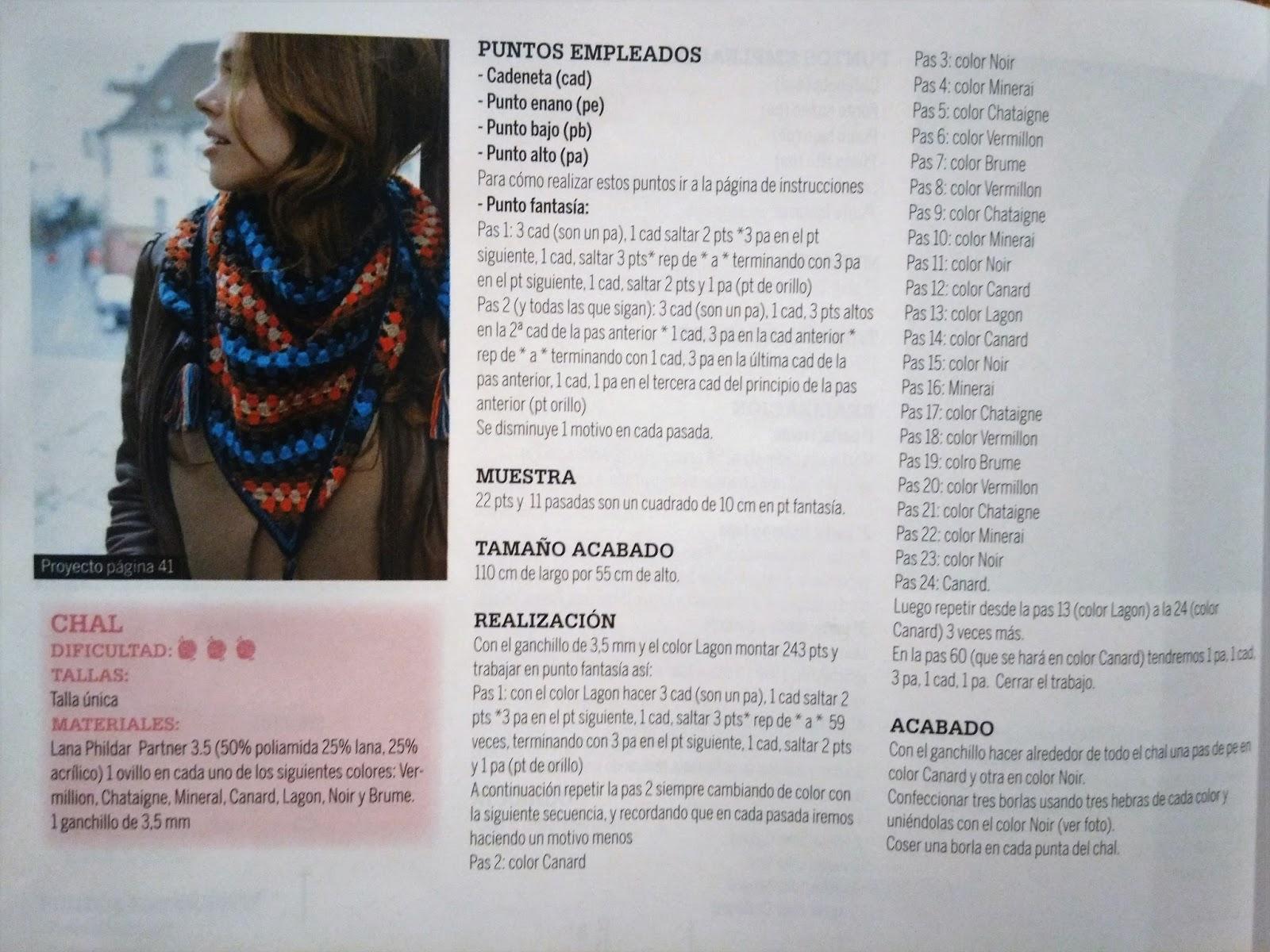 SmartandChick: DIY: Chal - foulard a ganchillo