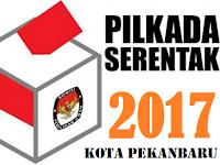 Update Hasil perhitungan Cepat / Quick Count Pilwalkot Kota Pekanbaru 2017