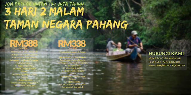 Capsule ,  Taman Negara Jerantut 2019 , Kuala Tahan 2019