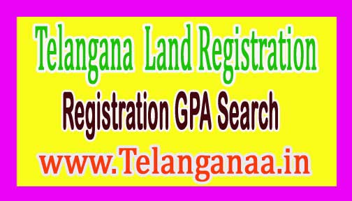 Telangana TS Land Registration GPA Search