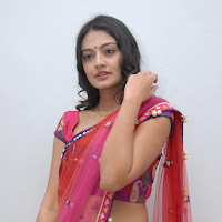 mast masala divine Nikitha narayan in saree photo gallery