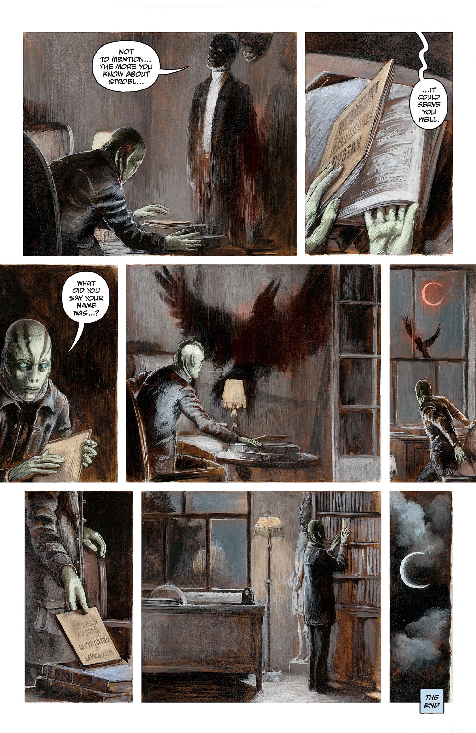 Read online Abe Sapien comic -  Issue #30 - 22