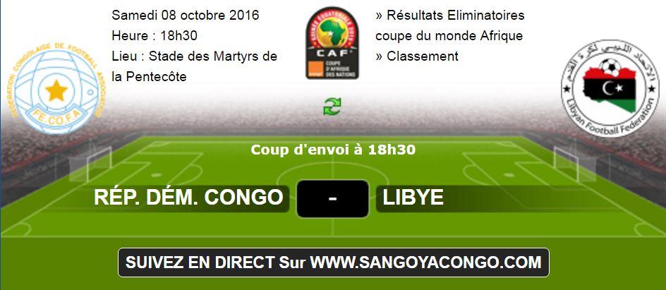 Suivez en direct sur ce lien l opards rdc vs libye liminatoire coupe du monde 2018 vid o - Coupe du monde u17 en direct ...