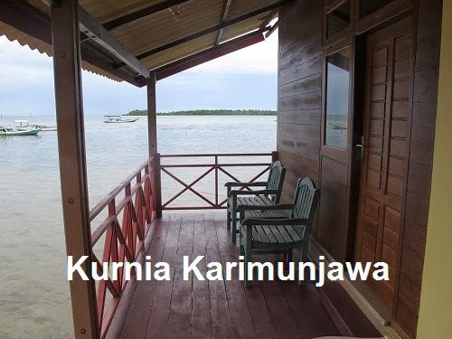 kamar apung blue laguna in karimunjawa