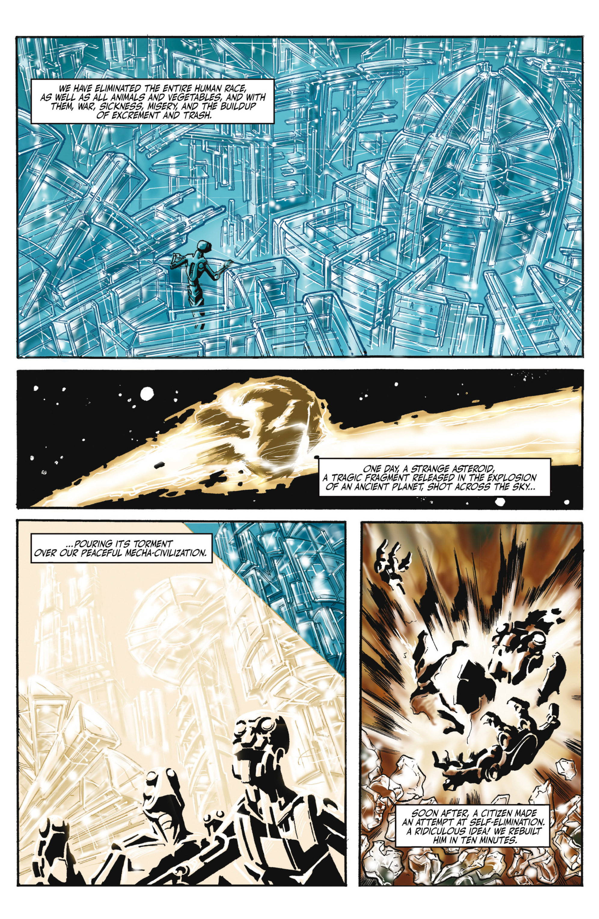 Read online Alejandro Jodorowsky's Screaming Planet comic -  Issue #2 - 8