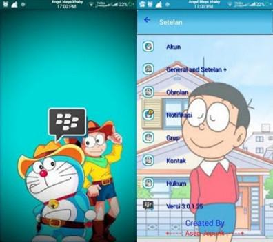 BBM MOD Doraemon Transparan v3.0.1.25