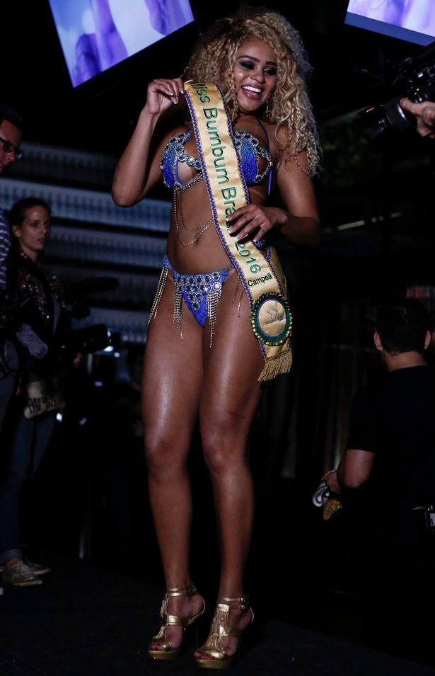 Miss Bum Bum Brazil 2016 crowns first black winner (Photos)