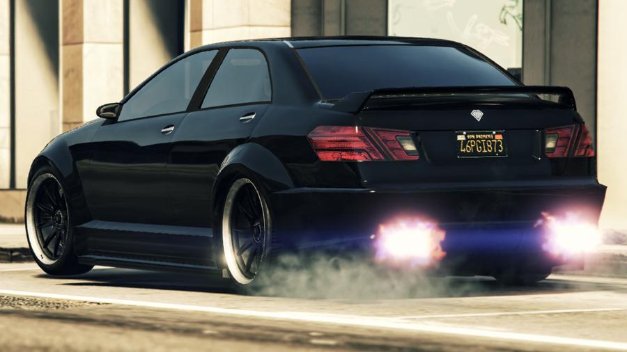 GTA V Shafter V12