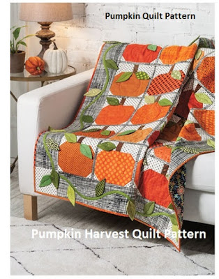 Easy Pumpkin Quilt Patterns Quilting patterns for fall