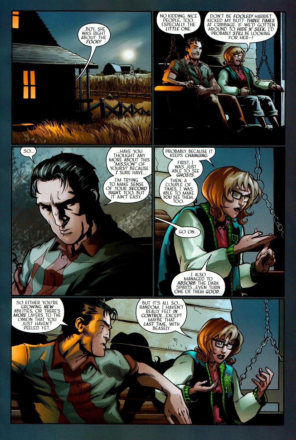 Read online Route 666 comic -  Issue #16 - 15