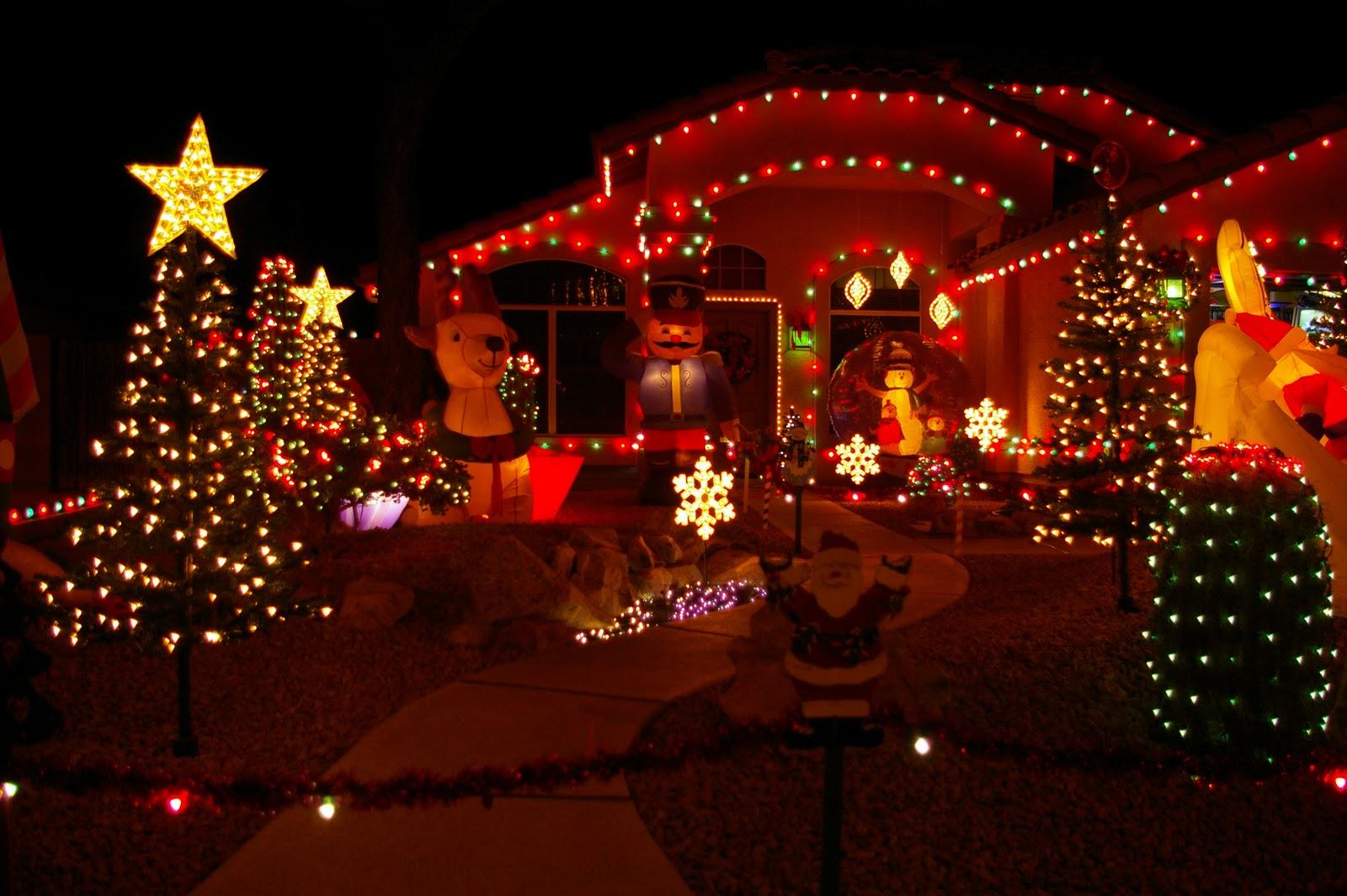 christmas house lighting - democraciaejustica