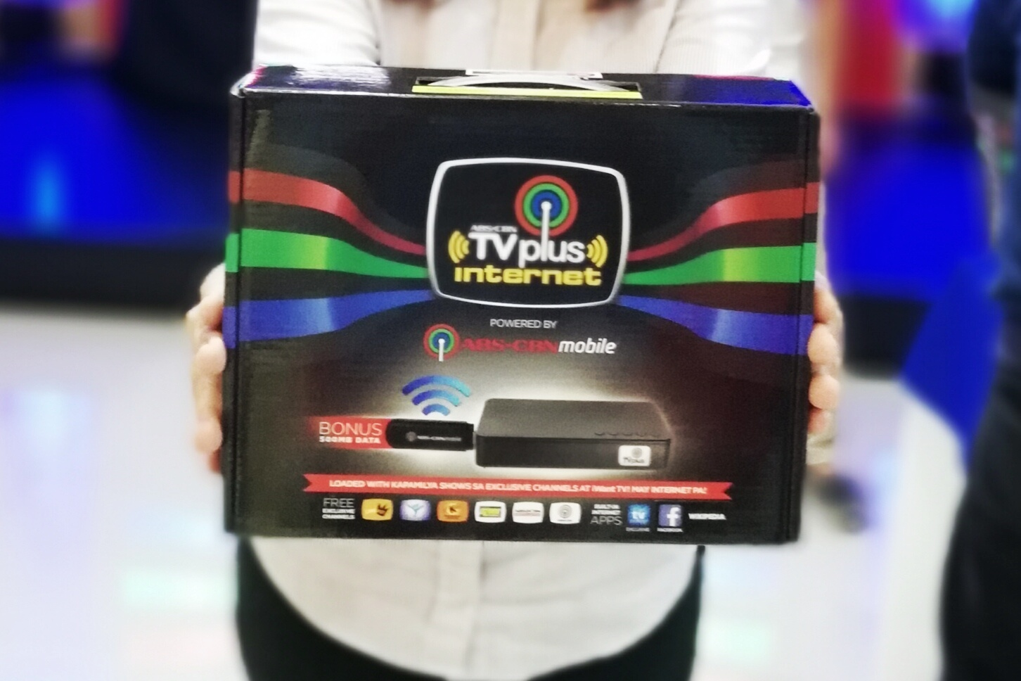 ABS CBN INTRODUCES INTERNET-READY TV PLUS IN CEBU AND DAVAO