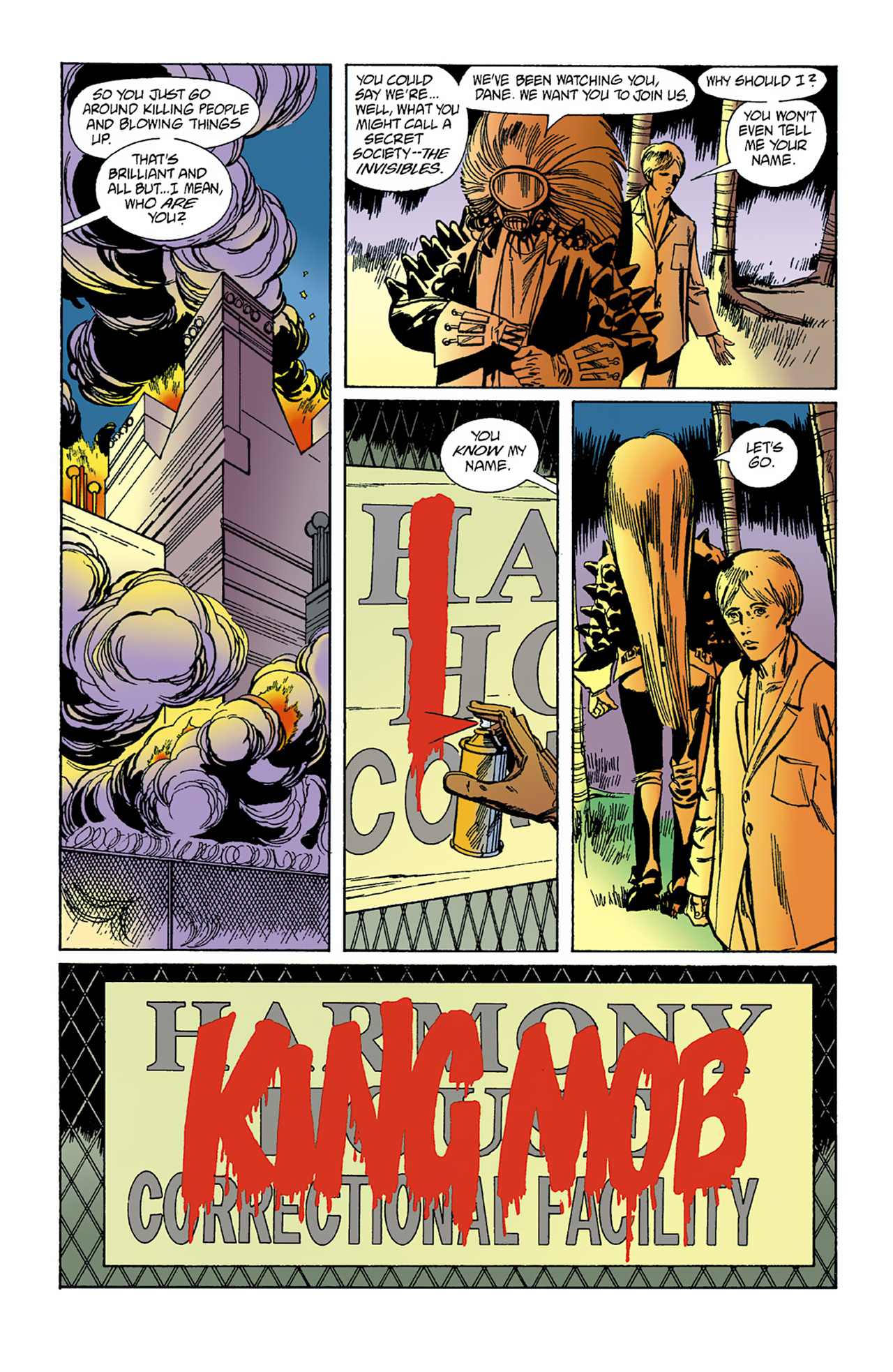 The Invisibles (1994) 1 Page 37