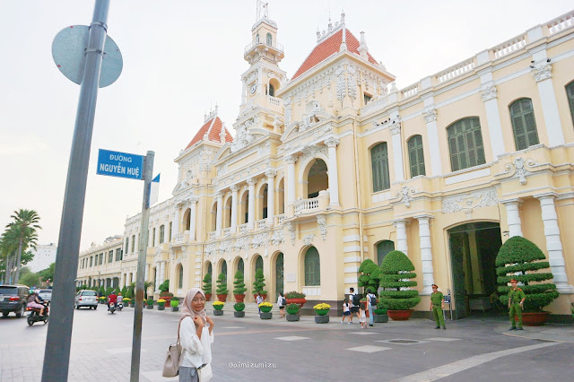 Ho Vhi Minh City Hall, Vietnam