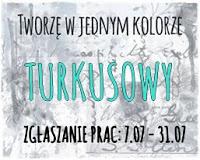 http://tworzewjednymkolorze.blogspot.com/2017/07/wyzwanie-4-turkus-challenge-4-turquoise.html