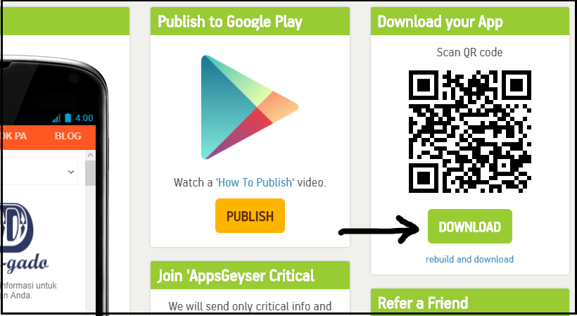 Cara Membuat Aplikasi Android Tanpa Coding Sahabat Pena