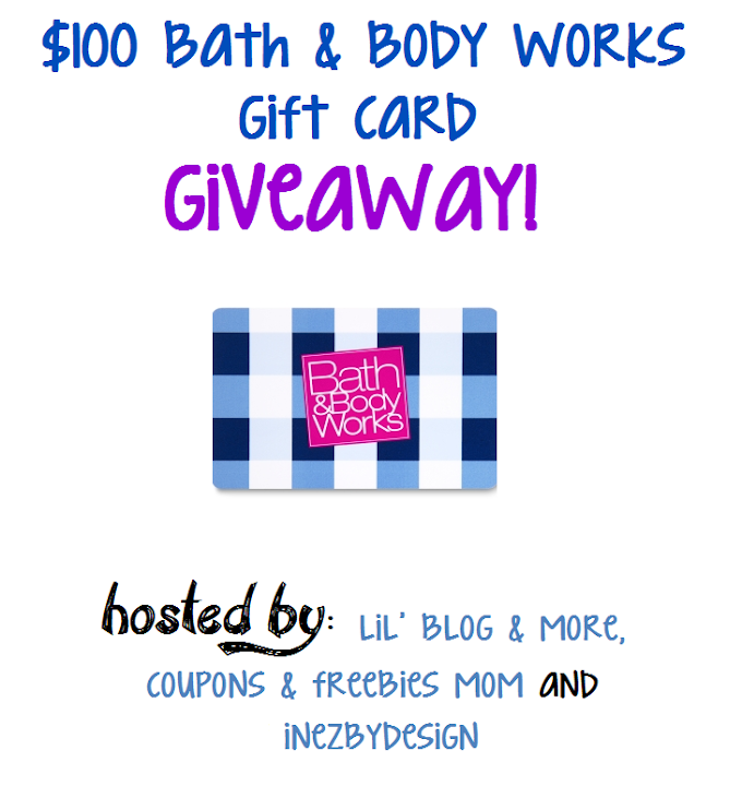 $100 Bath and Body Works Giveaway