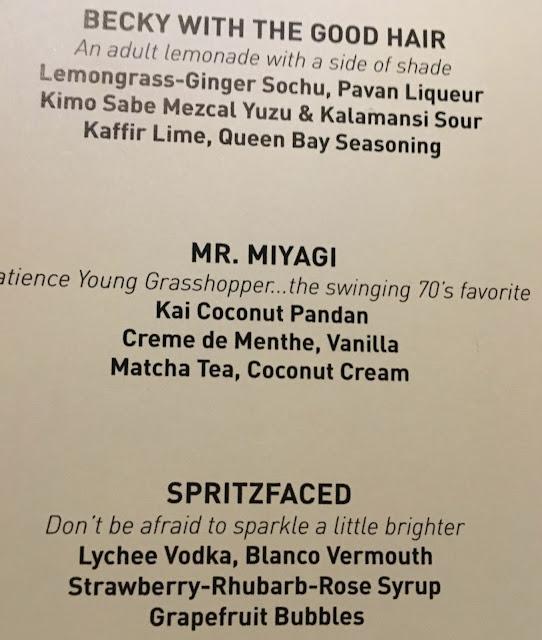 Cosmo, Cosmopolitan, Chandelier, Vegas, drink menu