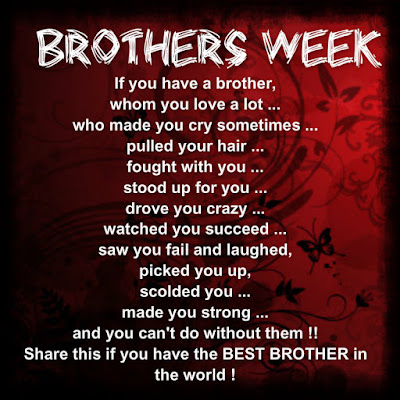 Happy Birthday wishes for brother: if  you have a brother, whom you love a lot