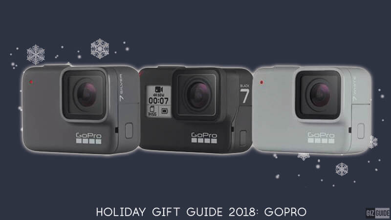 Holiday Gift Guide 2018: The GoPro for you is?
