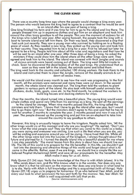 Cerita Pendek Bahasa Inggris tentang Raja