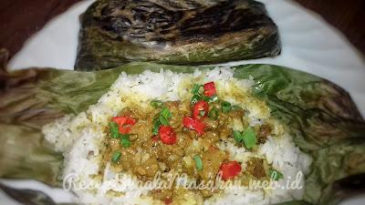 Resep Masak Nasi Bakar Daging Sapi