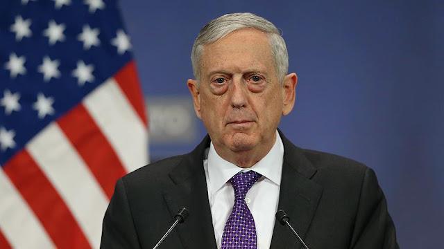 ماتيس: استمرار الوجود العسكري الأمريكي في سورية حتى القضاء على (داعش) كلياً