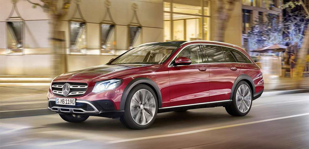 mercedes e-class all terrain, Amiscar, car news