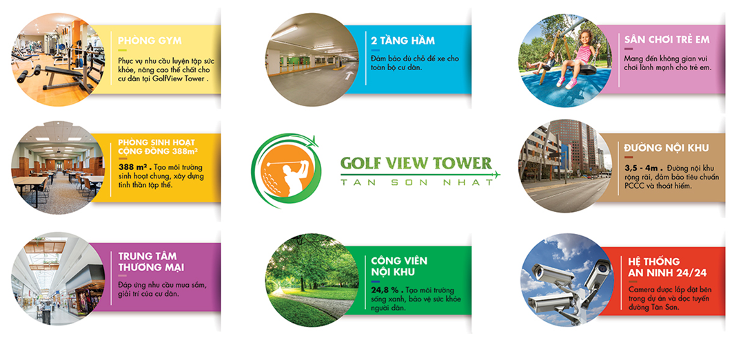 tien ich noi khu golf view tower