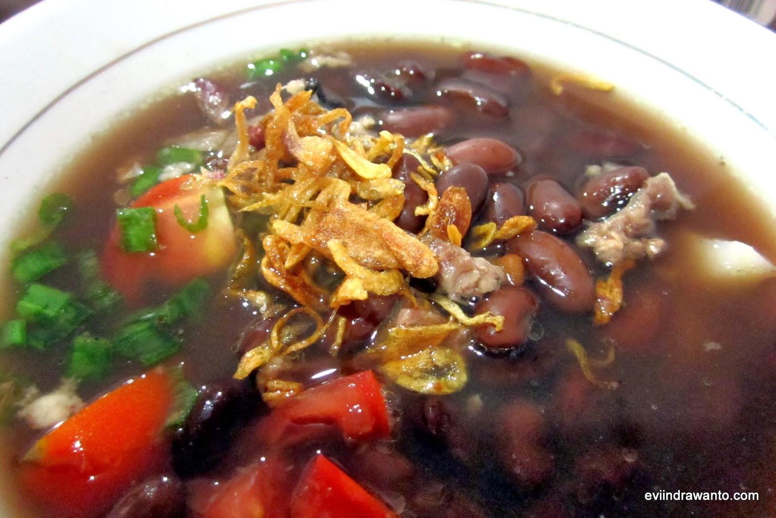 menikmati manfaat melalui sup kacang merah