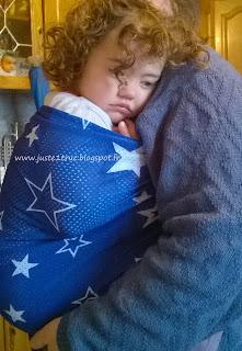 sukkiri Lucky Baby sling babywearing portage test avis review étoiles aéré polyester