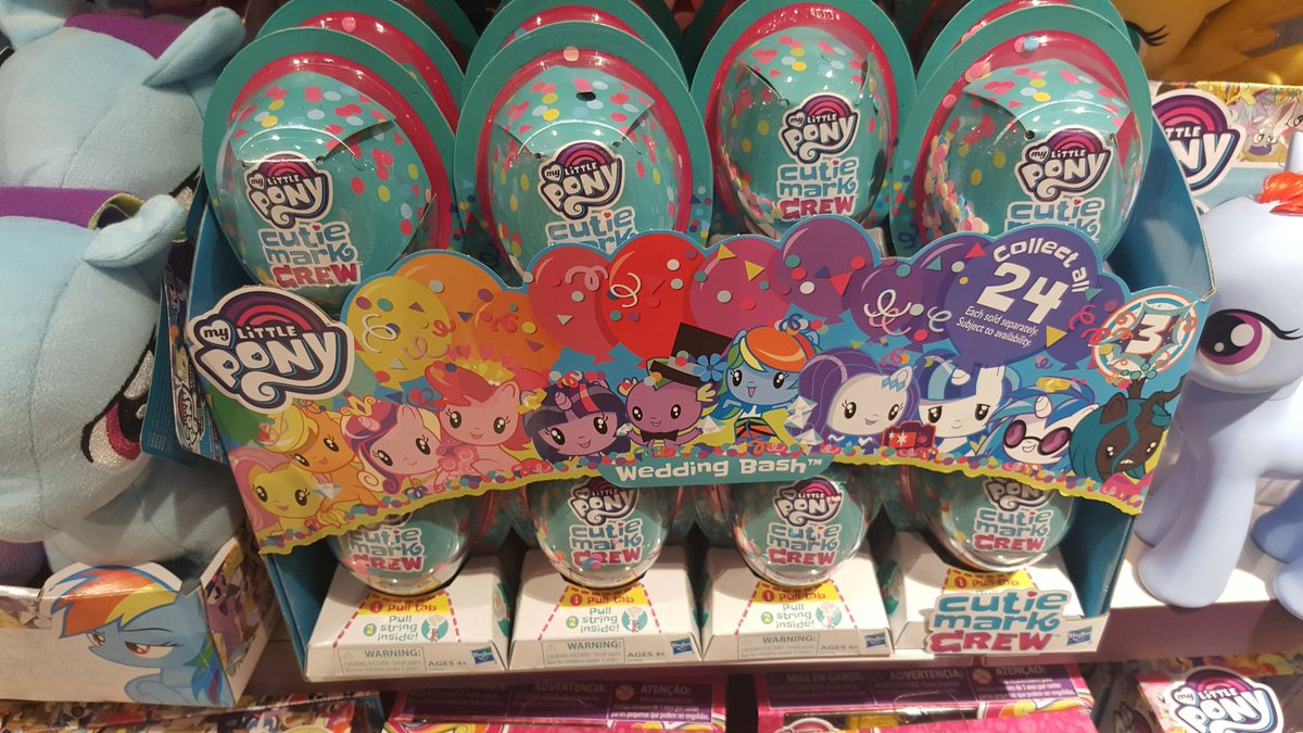 Cutie Mark Crew Series 3: Wedding Bash Singles Spotted in the